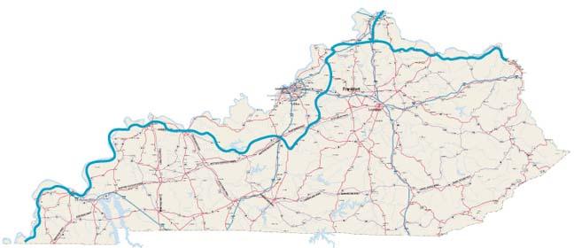 Biking Trails  Routes across Kentucky