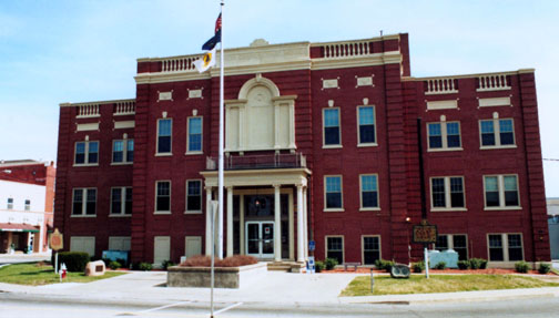 Hardin County Courthouse in Kentucky