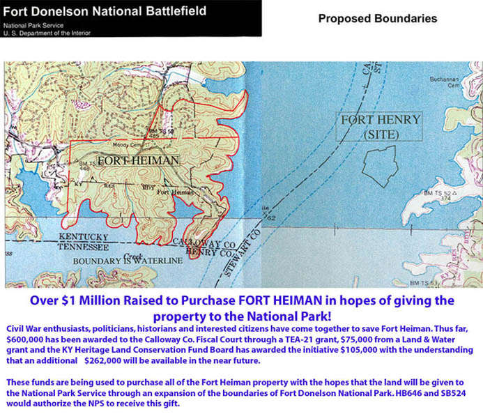 Click Here For Map Of Proposed Boundaries Of Fort Heiman National Park
