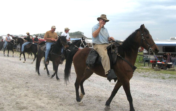 Horseback Trail Riding In Knott County