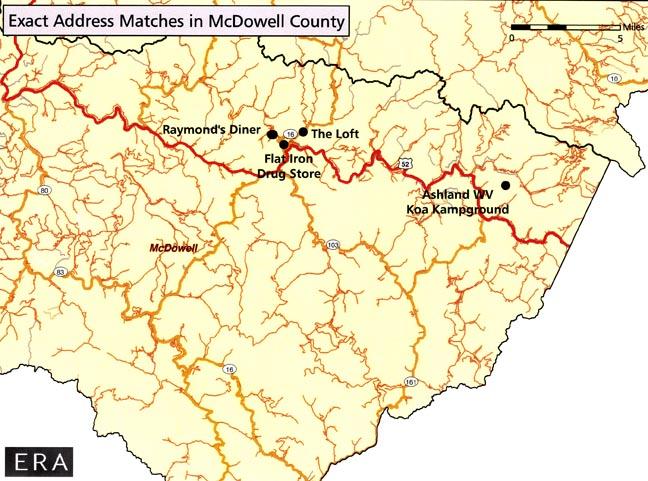 Coalwood West Virginia Map.Mcdowell County Wv